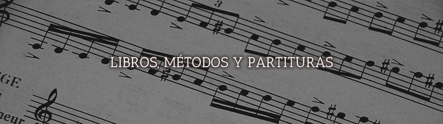 Libros, métodos y partituras